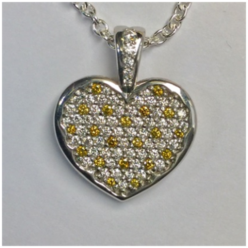 main heart pendant